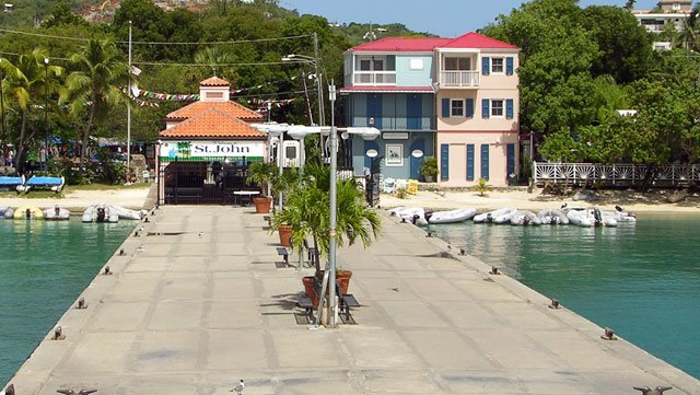 Cruz Bay, St john ferry dock