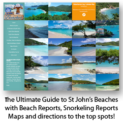 St John Beach Guide - mobile friendly site