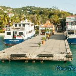 Ferry dock in Cruz Bay on St John