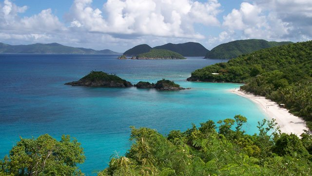 Trunk Bay Beach, St John, USVI