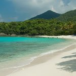 Denis Bay Beach on Saint John , US Virgin Islands