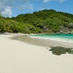 Jumbie Beach in St. John Virgin Islands