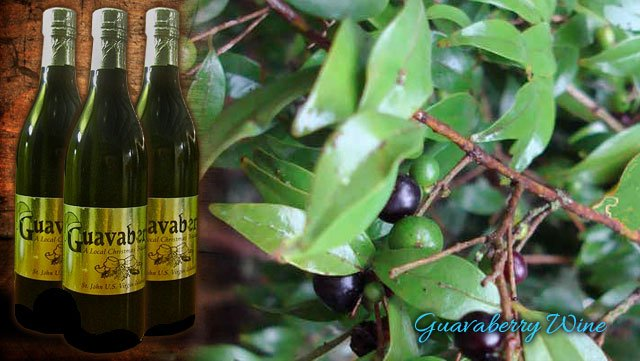 St John Guavaberry Wine