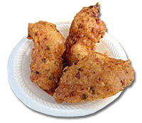 Vie's conch fritters