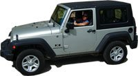 St John rental Jeep