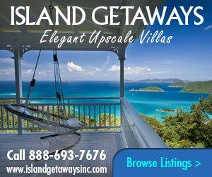 Island Getaways St John rental villas