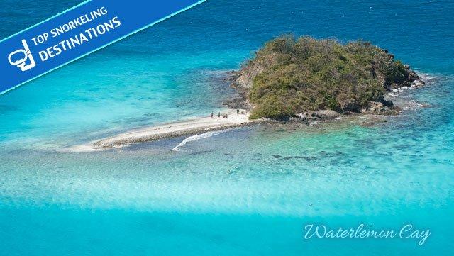 Waterlemon Cay St John snorkeling