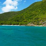 Genti Beach on St John, US Virgin Islands