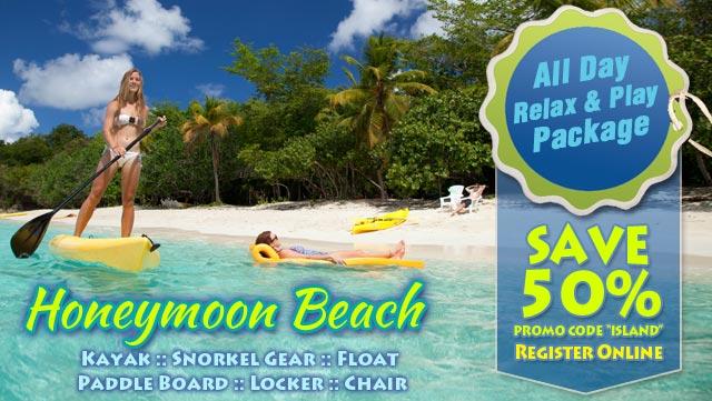 Relax Play At Honeymoon Beach On Island Times Us