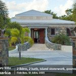 Bismarkia, 2 bedroom St John rental villa in Fish Bay