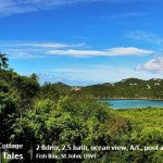 Fish Tales St John rental villa island cottage