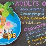 Scoops ice cream, Mongoose Junction, Cruz Bay, St John, USVI