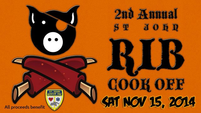 St John Rib Cook Off 2014 to benefit St John Rescue