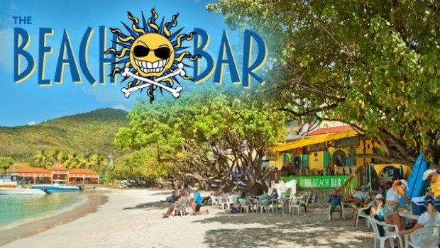 The Beach Bar - Cruz Bay, St John, USVI