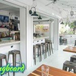 The Longboard restaurant in Cruz Bay, St John US Virgin Islands