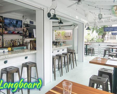 The Longboard restaurant in Cruz Bay, St John US Virgin Islands