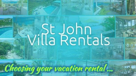 St John Rental Villas web site