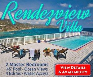Rendezview Rental Villa, St John