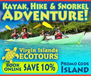 Kayak, Hike and Snorkel Adventures with Virgin Islands Ecotours