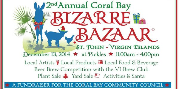 Coral Bay Bizarre Bazaar - St John