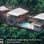 Featured St John rental villa