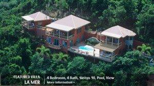 Featured St John rental villa