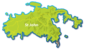 Map of St John