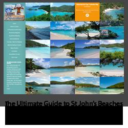 St John Beach Guide - mobile friendly site