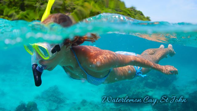 Waterlemon Cay, St John