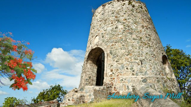 Annaberg Sugar Mill plantation ruins