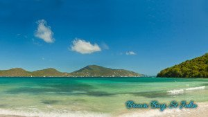 Brown Bay Trail and beach on St John