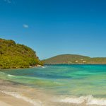 Brown Bay Beach and Trail on St John for snorkeling and hiking