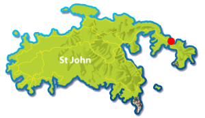 Haulover North, St John map