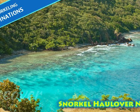 St John top snorkeling spot - Haulover North