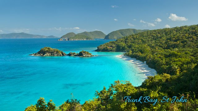 Trunk Bay - St John beaches