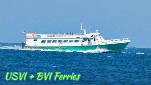 USVI + BVI ferry information