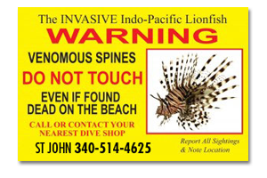 CORE Lionfish sightings information