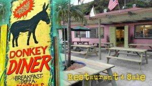 Donkey Diner in Coral Bay for sale.