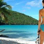 Maho Bay beach and snorkeling