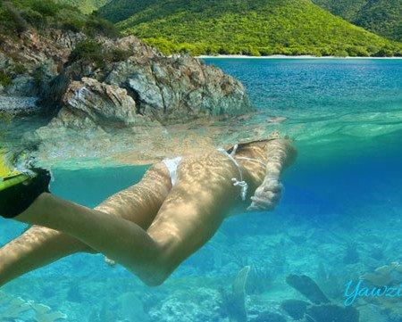 Yawzi Point snorkeling