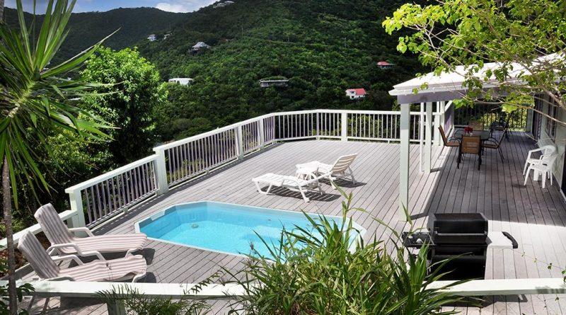 St John villa rental, Fish Tales, 2 bdrm, pool and ocean view