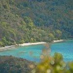 White Sand Beach on St John, US Virgin Islands