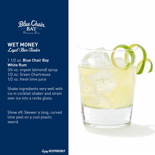 Blue Chair Bay Rum - Wet Money drink recipe