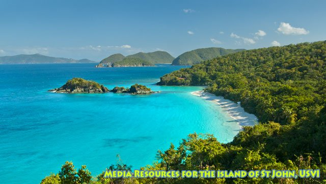 royalty free stock images of St John US Virgin Islands