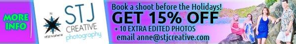 STJ Creative st john photographer promotion special