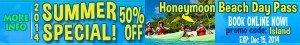 Honeymoon Beach Day Pass St John promo code savings coupon