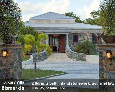 Bismarkia, 2 bedroom St John rental villa in Fish Bay