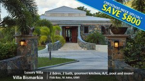 St John villa rental deal