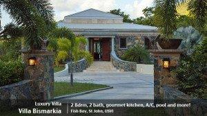 St John villa rental Bismarkia