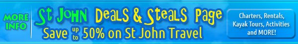 Save on St John travel promotions, deals, discounts